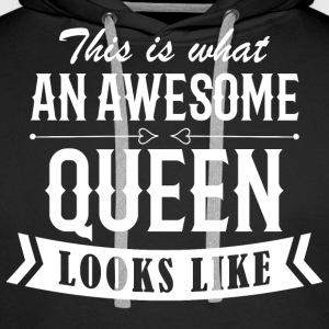 Awesome Queen - Männer Premium Hoodie