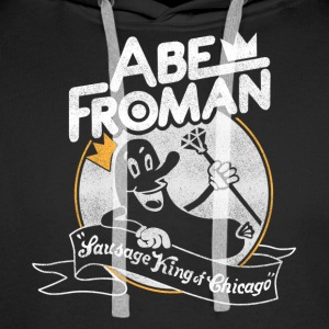 Pølse King of Chicago Abe Froman - Herre Premium hættetrøje