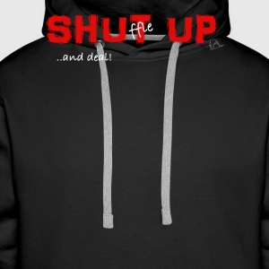 Shuffle up and deal! Poker T-Shirt - Männer Premium Hoodie