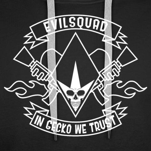 EvilSquad - Sweat-shirt à capuche Premium pour hommes