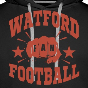 Watford Football Fan - Sweat-shirt à capuche Premium pour hommes