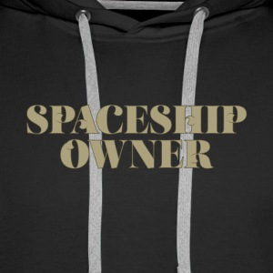 Spaceship Owner - Science-Fiction - Männer Premium Hoodie
