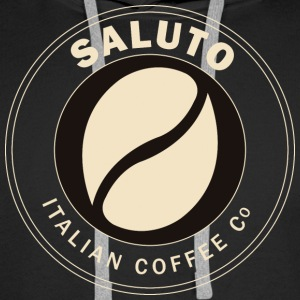 Saluto Coffee Edinburgh - Men's Premium Hoodie