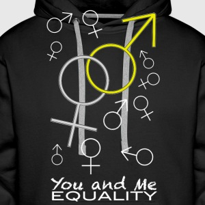 YOU AND ME - Men's Premium Hoodie