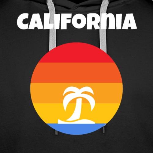 California Tropical Paradise - Premium hettegenser for menn