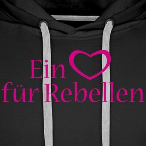 Kopffuessler Rebellen kompakt - Männer Premium Hoodie