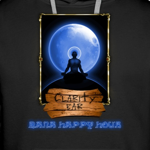 clarity - Sudadera con capucha premium para hombre