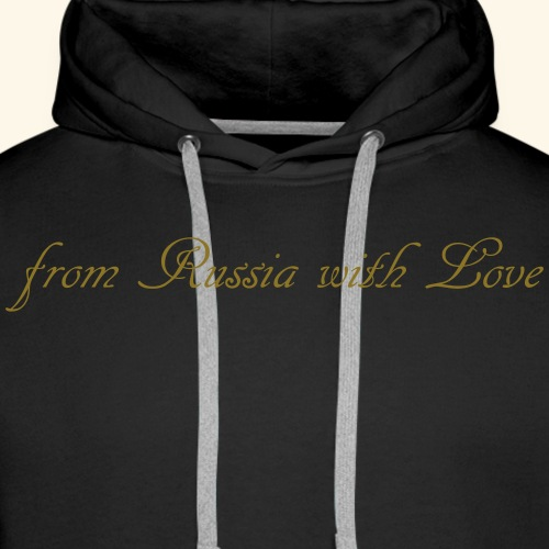 from russia with love - Männer Premium Hoodie