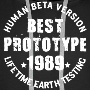1989 - The year of birth of legendary prototypes - Men's Premium Hoodie