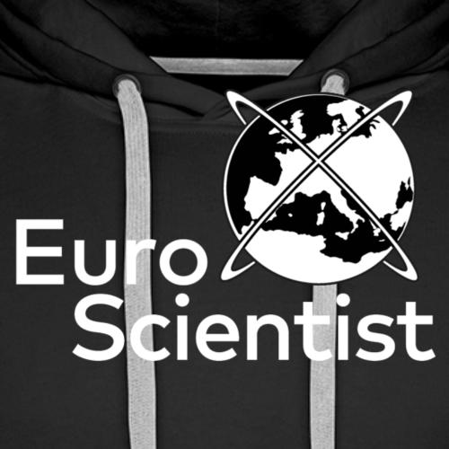 EuroScientist - Logo White - Men's Premium Hoodie