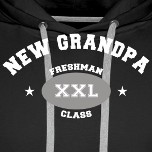 New Grandpa Personalize with Date or Name - Men's Premium Hoodie