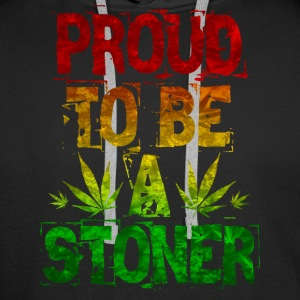 Proud To Be A Stoner - Men's Premium Hoodie