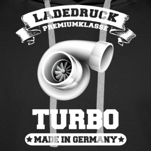 Ladedruck Turbo Made in Germany - Männer Premium Hoodie