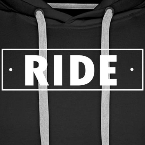 ride - Sweat-shirt à capuche Premium pour hommes