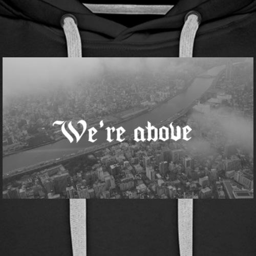 City - Sudadera con capucha premium para hombre