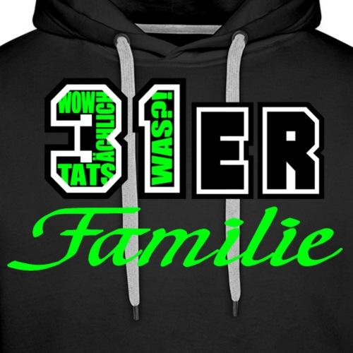 Grün 31ER Familie - Männer Premium Hoodie