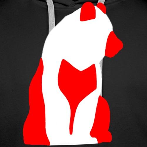 IJsBeer-Red - Mannen Premium hoodie