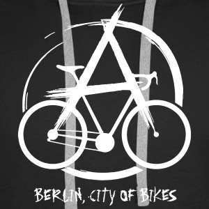 Bike Anarchy - Premium hettegenser for menn
