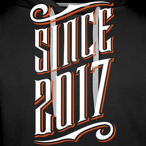 Since 2017 - Männer Premium Hoodie