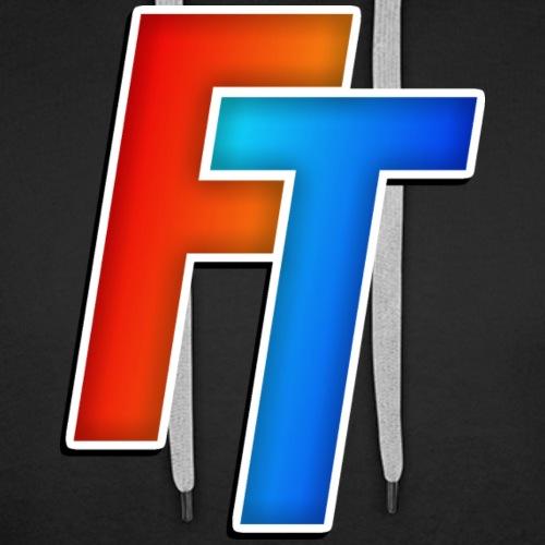 FiducTime Logo - Men's Premium Hoodie