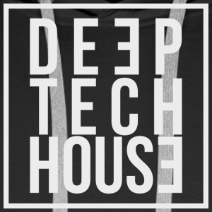 Deep Tech House av HouseMixRoom radioshow - Premium hettegenser for menn