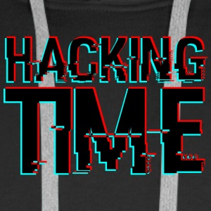 HACKING TIME HACKER - Männer Premium Hoodie