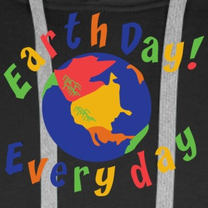 Earth Day Every Day - Men's Premium Hoodie