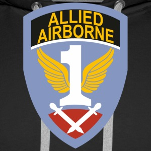 First Allied Airborne Army - Sweat-shirt à capuche Premium pour hommes