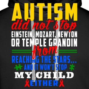 Autism does not stop - Men's Premium Hoodie