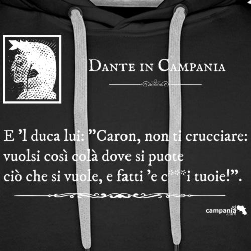 1,06 Dante Vuolsi Cosi Bianco - Felpa con cappuccio premium da uomo