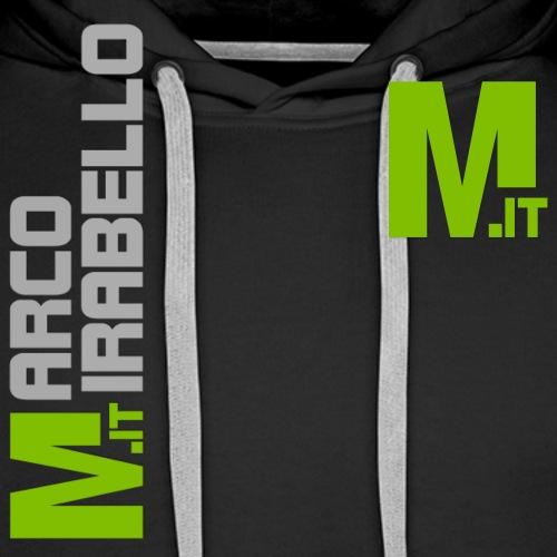 Marco Mirabello - Felpa con cappuccio premium da uomo