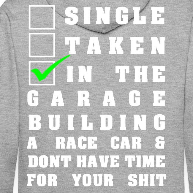 Single Taken Building a Racecar slogan