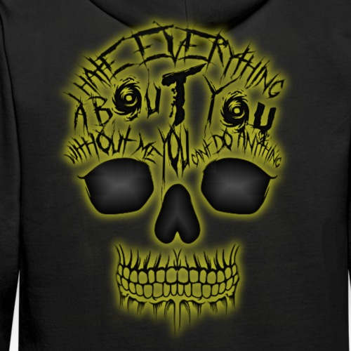 Hate everything - Sweat-shirt à capuche Premium pour hommes