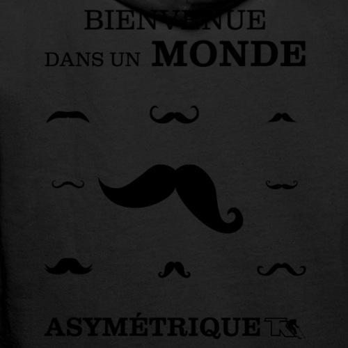 Bienvenue dans Monde Asymetrique - Sweat-shirt à capuche Premium pour hommes