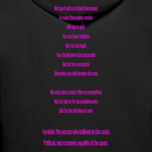 Flawless Lyrics - Felpa con cappuccio premium da uomo