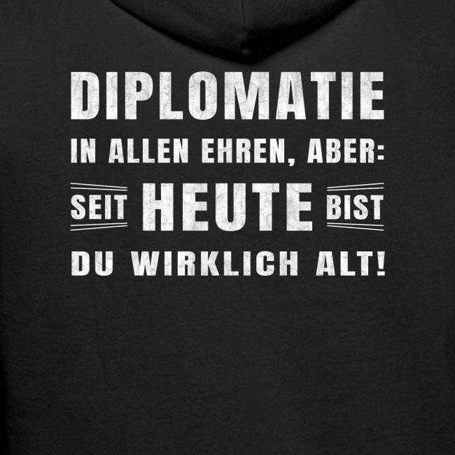 Heute Alt Sprüche Geburtstag Lustig Spruch Alt Männer Premium Hoodie
