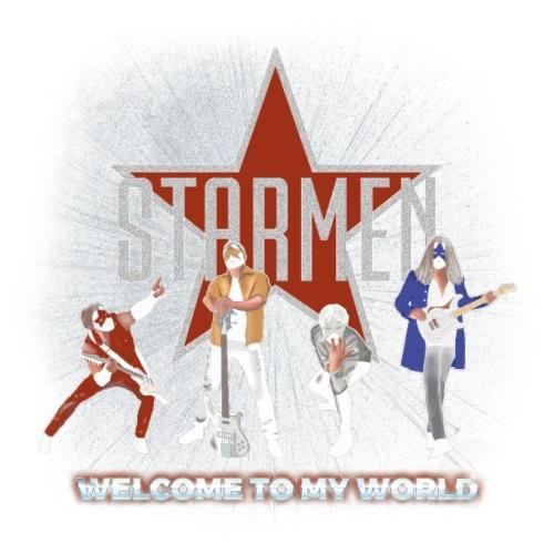 Starmen - Welcome To My World - Men's Premium Hoodie