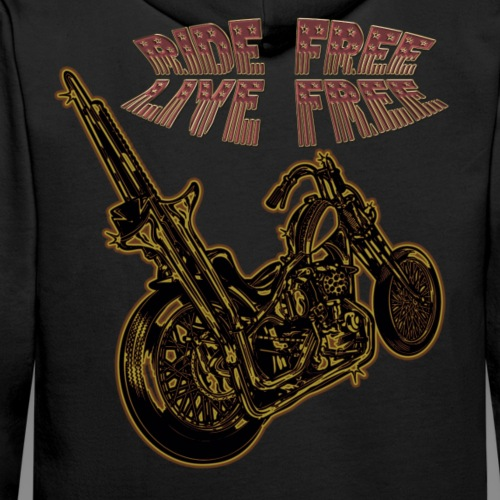 Ride Free - Sudadera con capucha premium para hombre