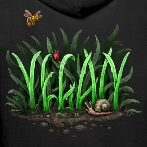 Grow Vegan - Männer Premium Hoodie