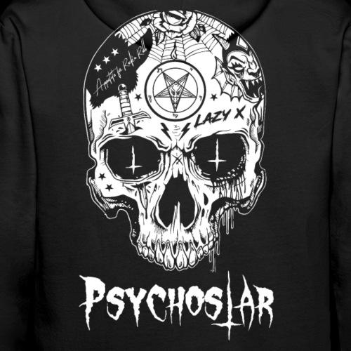 Psychostar scull - Men's Premium Hoodie