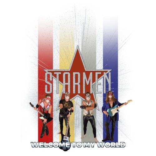 Starmen - Colors - Men's Premium Hoodie