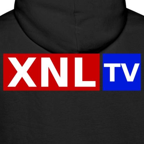 XNL TV Large 3 Color CO png - Men's Premium Hoodie