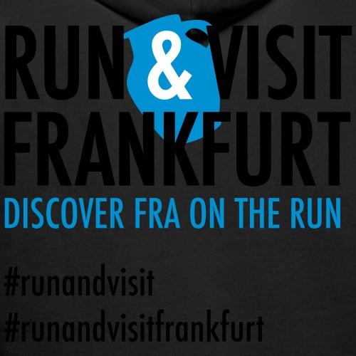 Run Visit Frankfurt - Männer Premium Hoodie