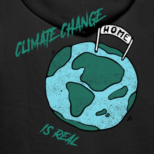 Climate change is real - Mannen Premium hoodie