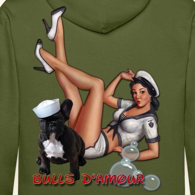 Pin Up navy bulldog