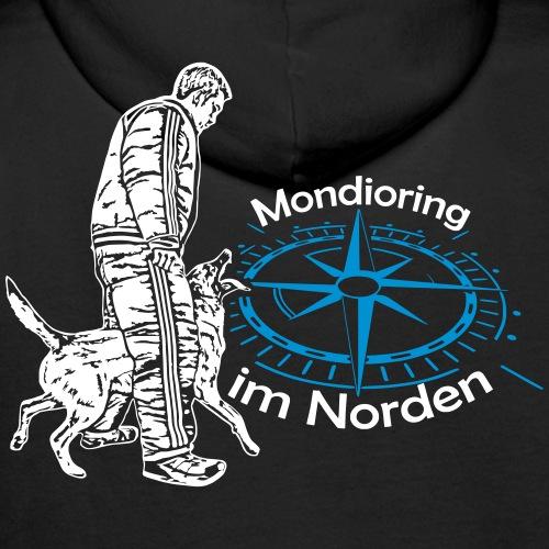 Mondioring im Norden / Motiv hinten / für dunkel - Männer Premium Hoodie