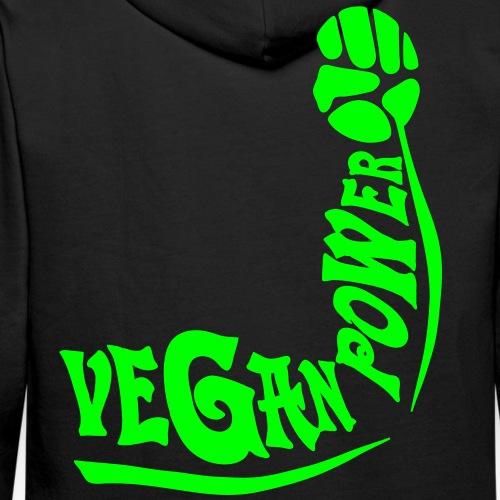 Vegan Power - Männer Premium Hoodie