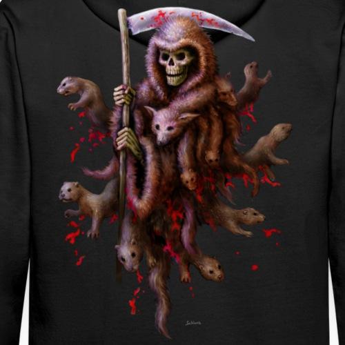 Death loves Fur (kapuze) - Männer Premium Hoodie