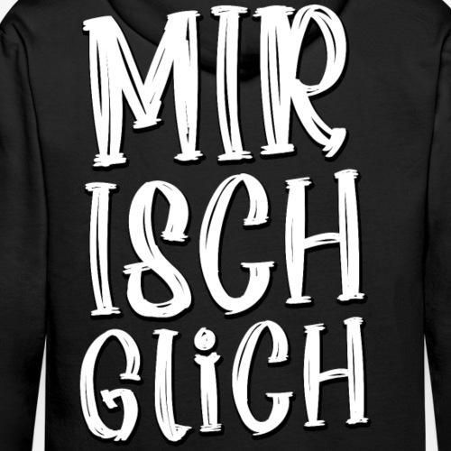 Zürich - Schweizer Dialekt Mundart - Spruch - Men's Premium Hoodie