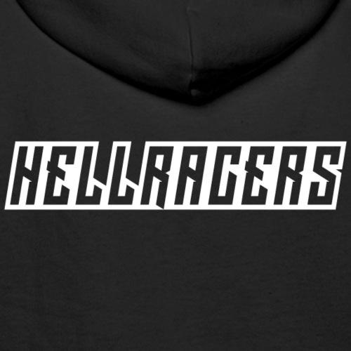 HELLRACERS TEXT - Men's Premium Hoodie